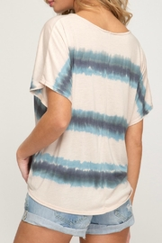 She + Sky Jamie Front-Tie Shirt - Side cropped