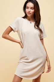 ENDLESS BLU Jamie T Shirt Dress - Product Mini Image
