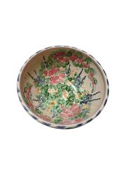 Jan Hoyman Studio Handmade Pottery Bowl - Front cropped