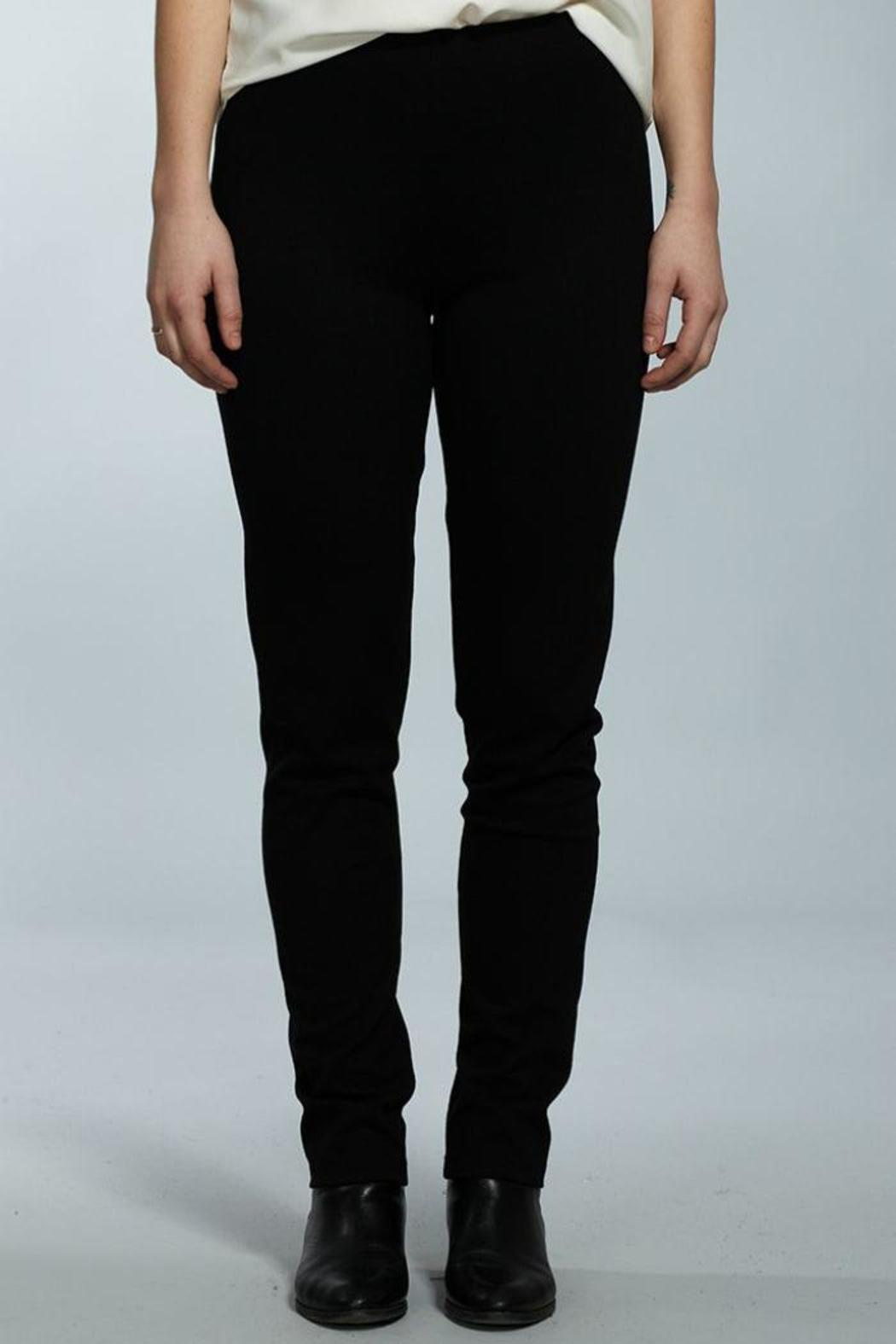 Jana Black Stretch Pants from Cambria by New Moon — Shoptiques