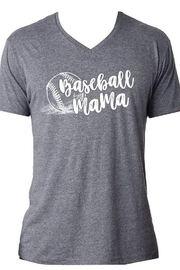Jane Marie Baseball Mama V-Neck - Product Mini Image