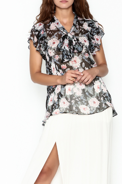 Jane Ruffle Sleeve Top - Product List Image