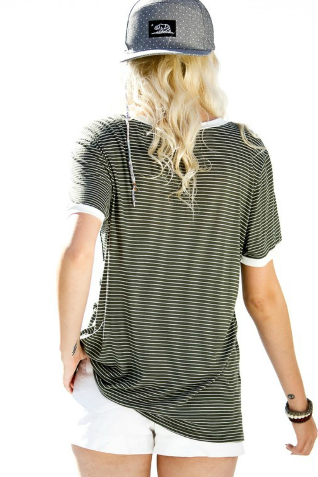 My Story Jane Striped Tee - Front Full Image