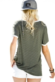 My Story Jane Striped Tee - Front full body