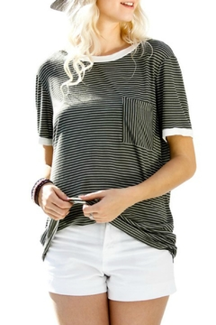 My Story Jane Striped Tee - Product List Image