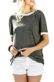 My Story Jane Striped Tee - Front cropped