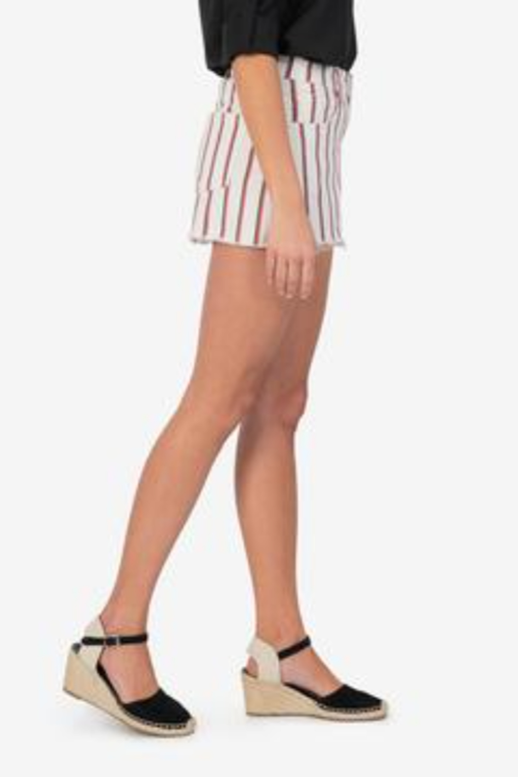 Kut from the Kloth Jane Vintage Stripe - Side Cropped Image