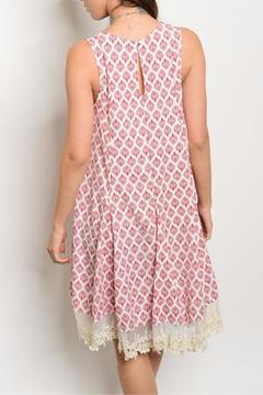 Shoptiques Product: Crochet Hem Dress