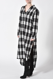 jane plus one Checkered Dress - Front full body