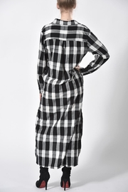 jane plus one Checkered Dress - Side cropped