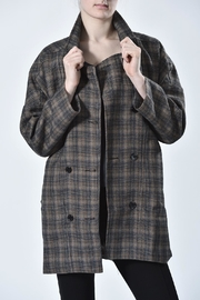 jane plus one Tweed Jacket - Front cropped