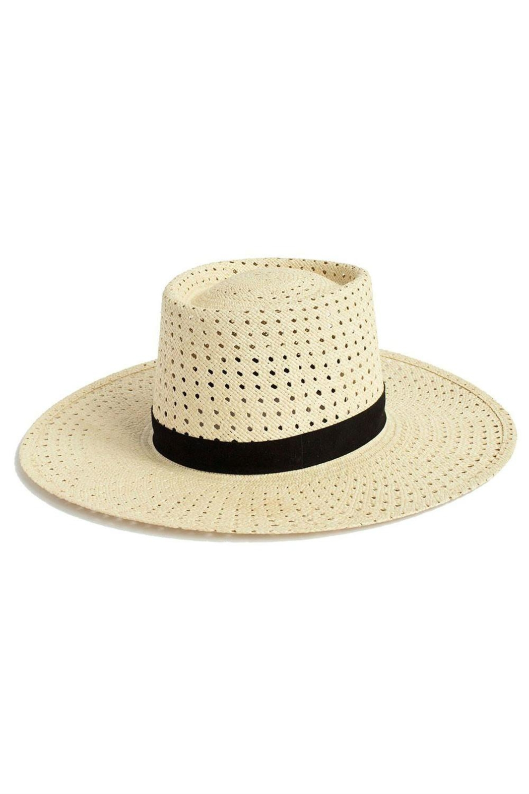 Janessa Leone Maxime Straw Hat - Front Cropped Image
