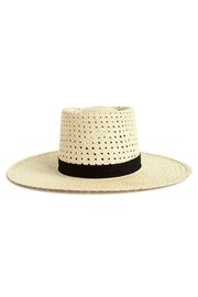 Janessa Leone Maxime Straw Hat - Front full body
