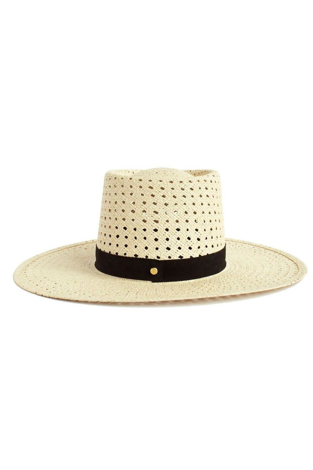 Janessa Leone Maxime Straw Hat - Side Cropped Image