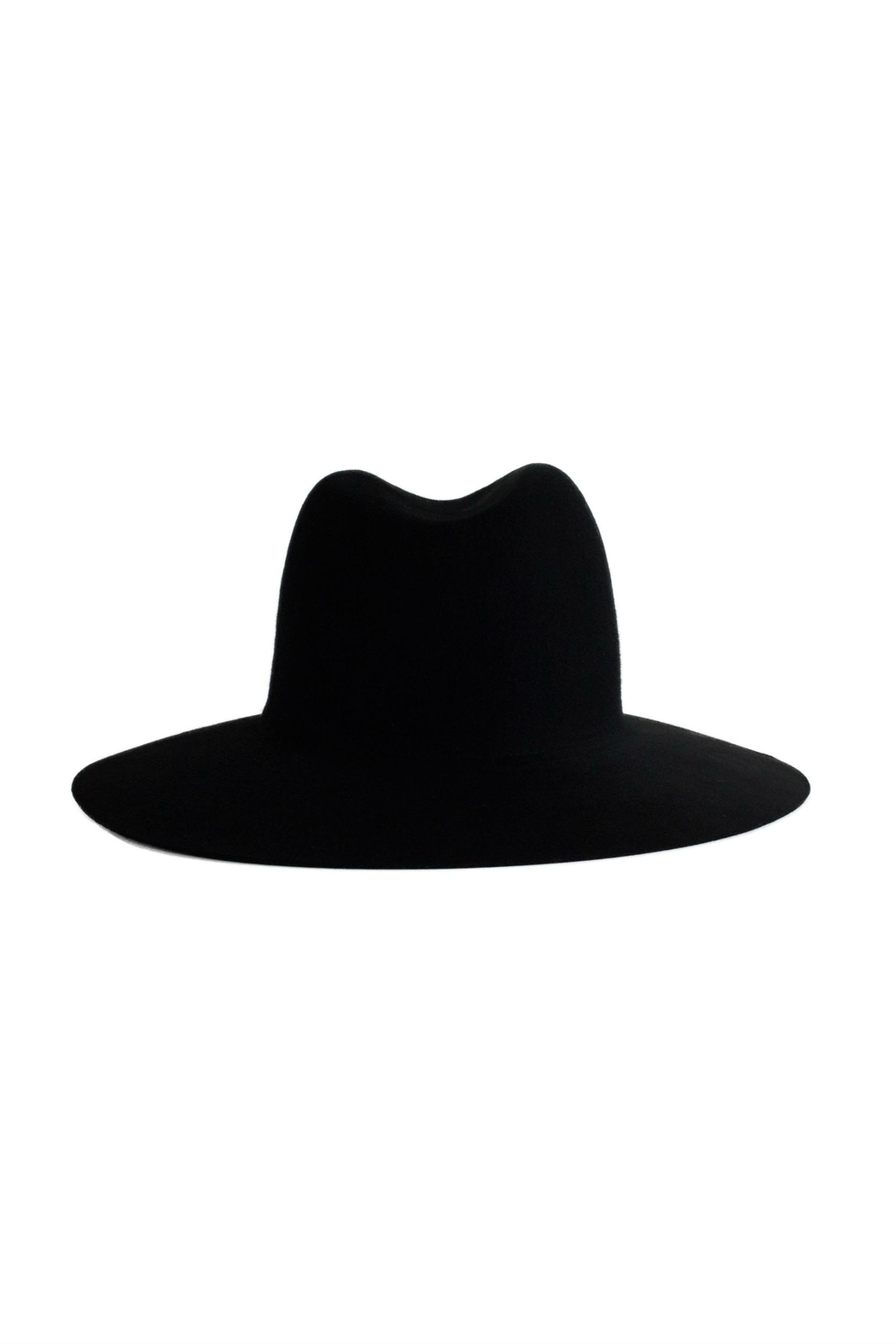Janessa Leone Trois Wool Hat - Side Cropped Image
