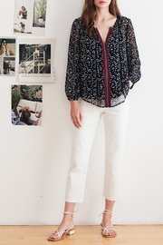 Velvet Janet Blouse - Front full body