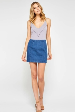 Shoptiques Product: Janet Denim Skirt