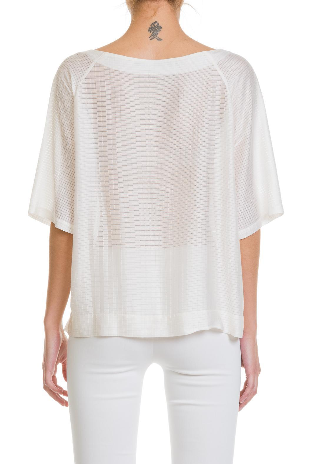 White Short Sleeved Blouse