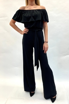 Janette Off-Shoulder Jumpsuit - Product List Image