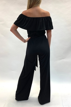 Janette Off-Shoulder Jumpsuit - Alternate List Image