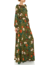 Janette Fall Floral Maxi Dress - Side cropped