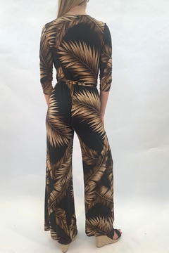 Janette Palm Print Jumpsuit - Alternate List Image