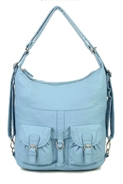 Ampere Creations Janey Convertable hobo bag and backpack - Front cropped