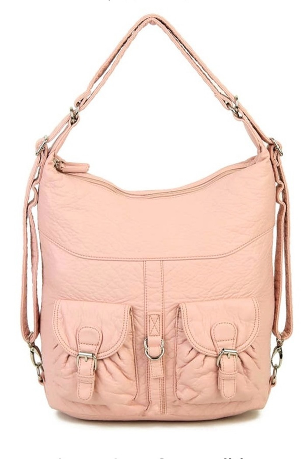 Ampere Creations Janey Convertable hobo bag and backpack - Front Cropped Image