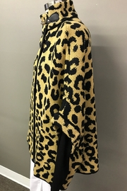 Janice Cheetah Sweater Jacket - Front full body