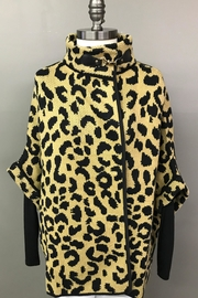 Janice Cheetah Sweater Jacket - Product Mini Image