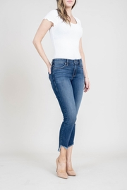 Level 99 Janice Mid Rise Ulta Skinny - Front cropped