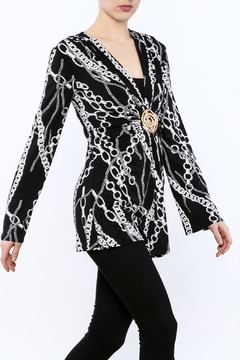 Shoptiques Product: Chain Print Tunic Top