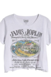 Prince Peter Collection Janis Joplin Distressed Crop Top - Product Mini Image