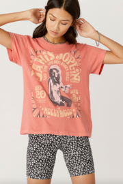Daydreamer  Janis Joplin in Hollywood Tour Tee - Product Mini Image