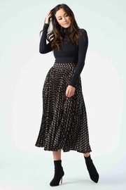 Lucca Janis Pleated Midi Skirt - Product Mini Image