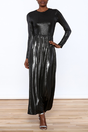 Jap Metallic Maxi Dress - Product Mini Image