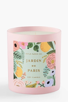 Rifle Paper Co.  Jardin de Paris Candle - Alternate List Image