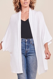 BB Dakota Jase White Cardigan - Product Mini Image