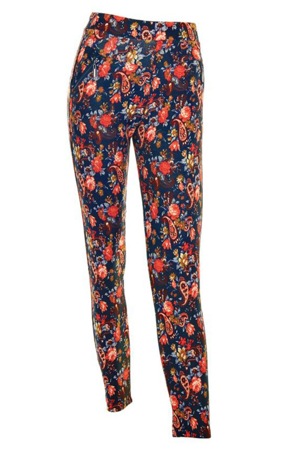 Coco + Carmen Jasmine Ankle Pant - Front Full Image