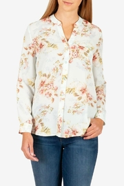 Kut from the Kloth Jasmine Crepe Blouse - Product Mini Image