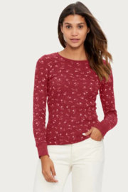 Michael Stars Jasmine Crew Neck Top - Product Mini Image