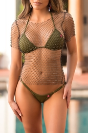 Chynna Dolls Jasmine Fishnet Top - Product Mini Image