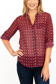 Kut from the Kloth Jasmine Floral Blouse - Product Mini Image