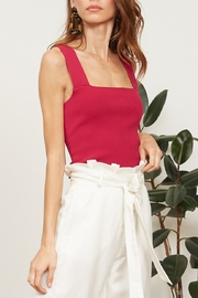 Lucy Paris  Jasmine Knit Crop Top - Product Mini Image
