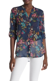 Kut from the Kloth Jasmine Long-Sleeve Print-Top - Product Mini Image