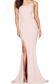 Nookie Jasmine One Shoulder Gown - Product Mini Image
