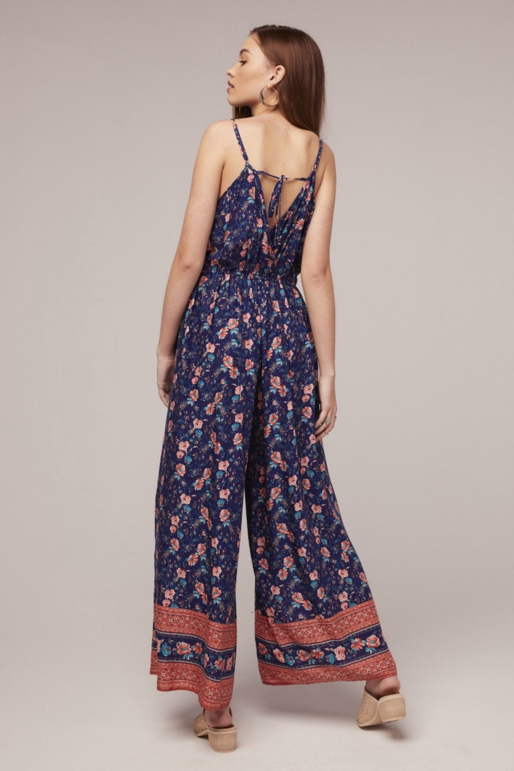 Band Of Gypsies Jasper Jumpsuit - Front Full Image