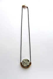 Larissa Loden Jasper Moon Necklace - Product Mini Image