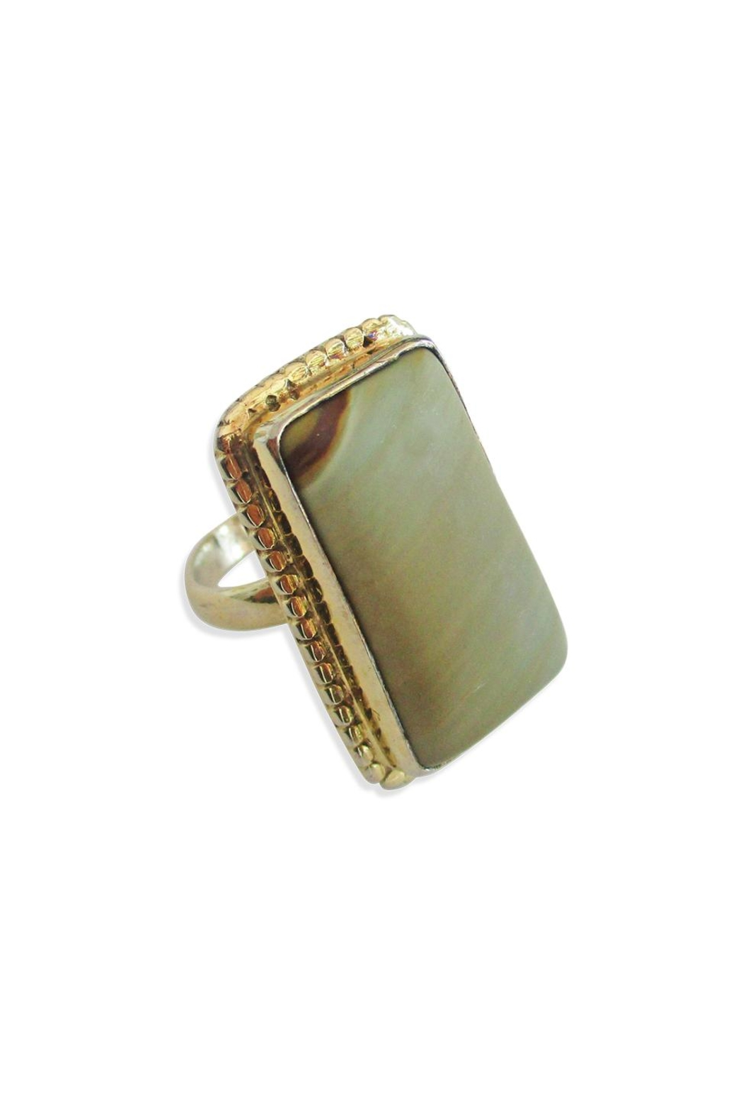 Malia Jewelry Jasper Ring - Main Image