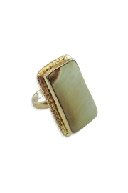 Malia Jewelry Jasper Ring - Front cropped